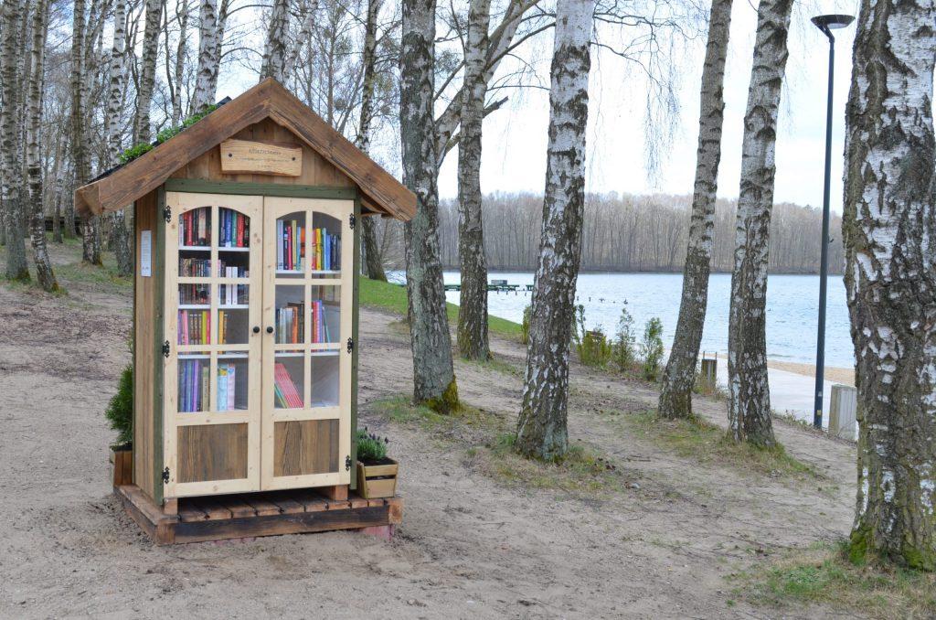 Bücherhäusel in Allenstein
